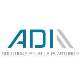 Logo adi solutions pour la plasturgie
