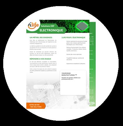 plaquette ERP electronique
