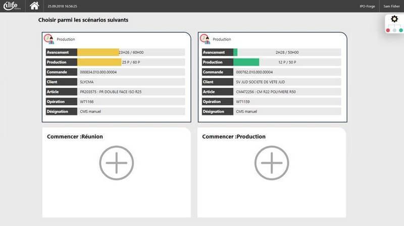 logiciel pilotage d'atelier, suivi de production industrielle ERP