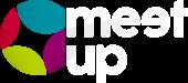 Logo meetup blanc